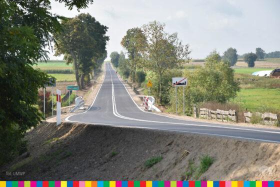 Zakończył się remont drogi wojewódzkiej nr648 zMiastkowa doNowogrodu
