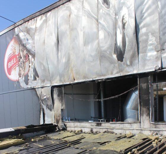 Strażacy opublikowali zdjęcia zpożaru Bielmleku
