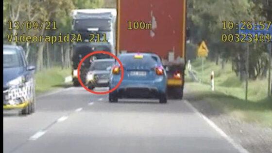 """DK 19. Kierowca volvo wyprzedzał """"na czołówkę"""""""