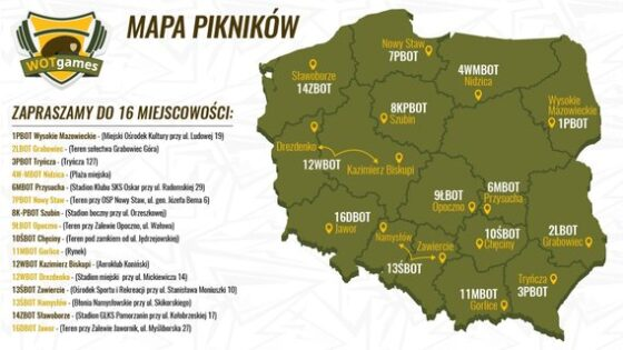 Żołnierze zapraszają naWOTgames – rodzinne pikniki sportowe wcałej Polsce