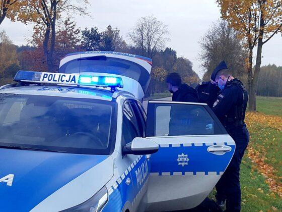Obywatele Niemiec, Gruzji iPolski zatrzymani zaprzewożenie nielegalnych imigrantów