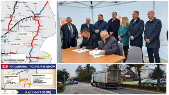 GDDKiA podpisała umowy naprojekt ibudowę dwóch kolejnych odcinków drogi S19 wPodlaskiem