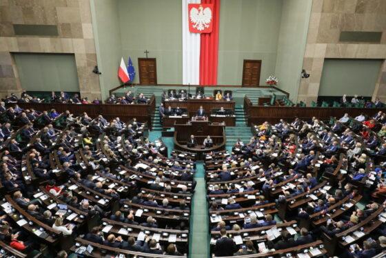 Sejm uchwalił ustawę obudowie zabezpieczenia granicy państwowej