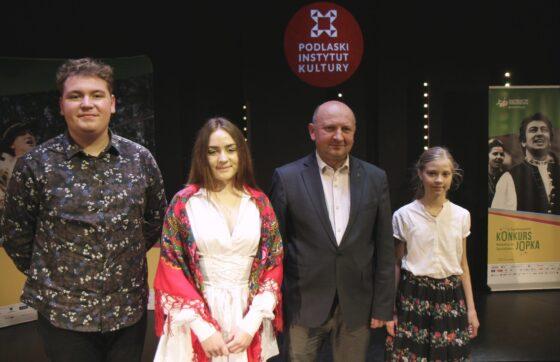 Laureaci regionalnego etapu konkursu wokalnego im.St. Jopka
