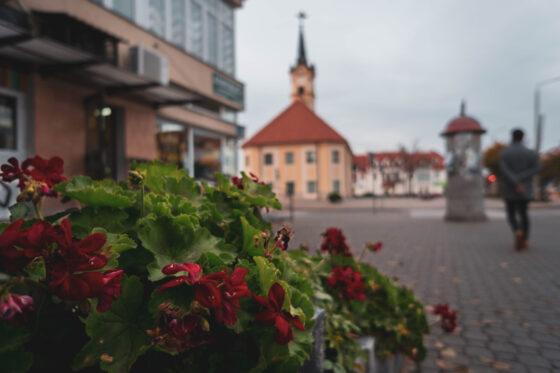 Jesienny wieczór wBielsku Podlaskim – galeria zdjęć