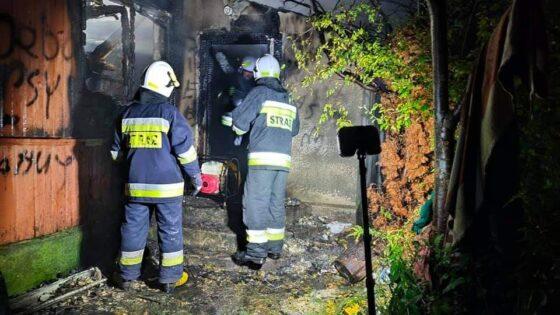 Podlaskie. Minionej nocy wdwóch pożarach zginęły trzy osoby