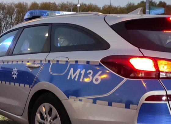 Wypadek wgminie Raczki naobwodnicy Augustowa.