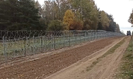 SG: Prawie 700 kolejnych prób nielegalnego przekroczenia granicy zBiałorusią